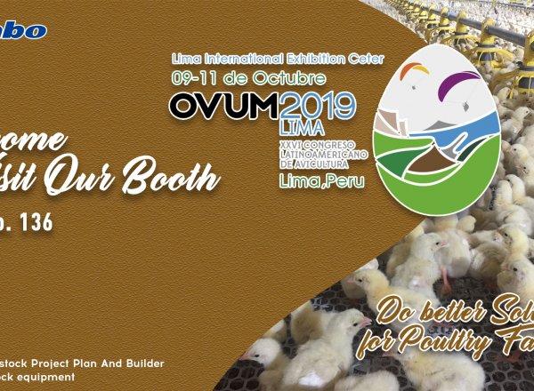 Huabo CLA OVUM 2019 Latin America Livestock & Poultry Exhibition